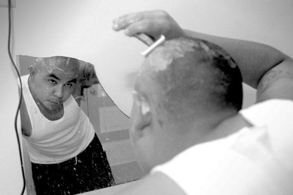 Latino Gang Member, LA © Rob Lacey