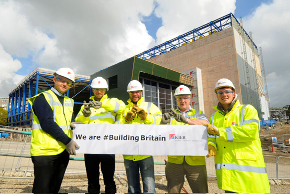 Hastag We are building britain