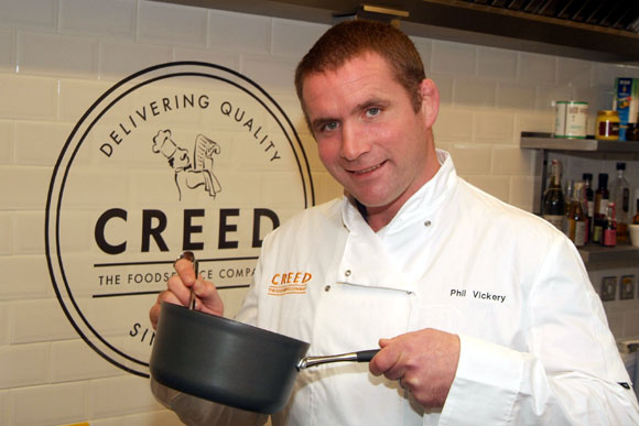 Phil Vickery Rugby Chef