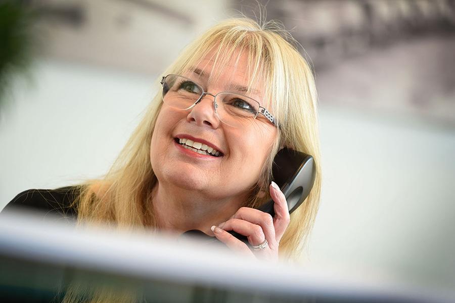 corporate receptionist