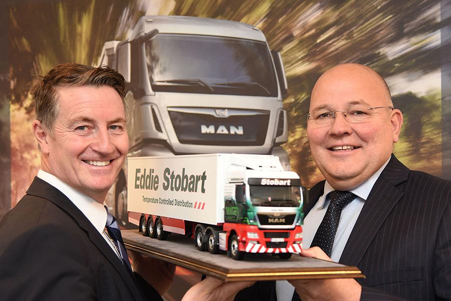 Stobart truck presentation