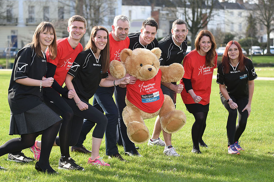 corporate charity runners