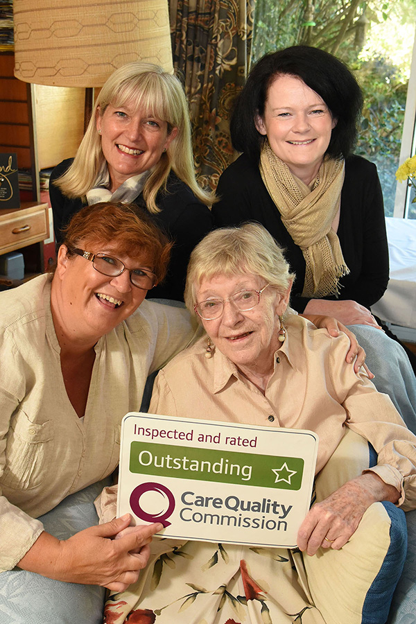 outstanding care quality