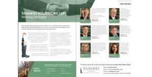 Tanners LLP Screenshot