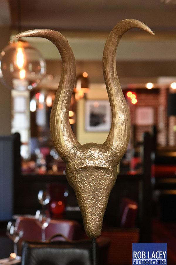 Bull Sculpture Art