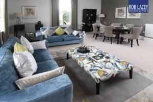Interior luxury retirement apartment - lounge