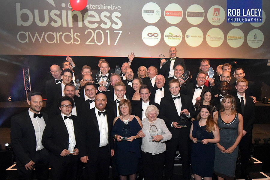 Gloucestershire Live Business Awards 2017 winners
