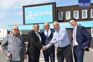 Sanyeev Gupta brokers Acenta deal
