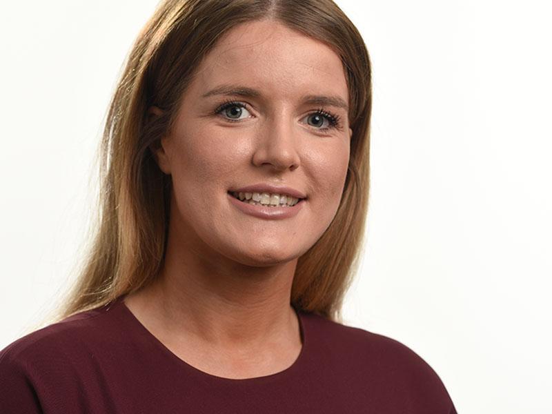 Birmingham headshot female on white background
