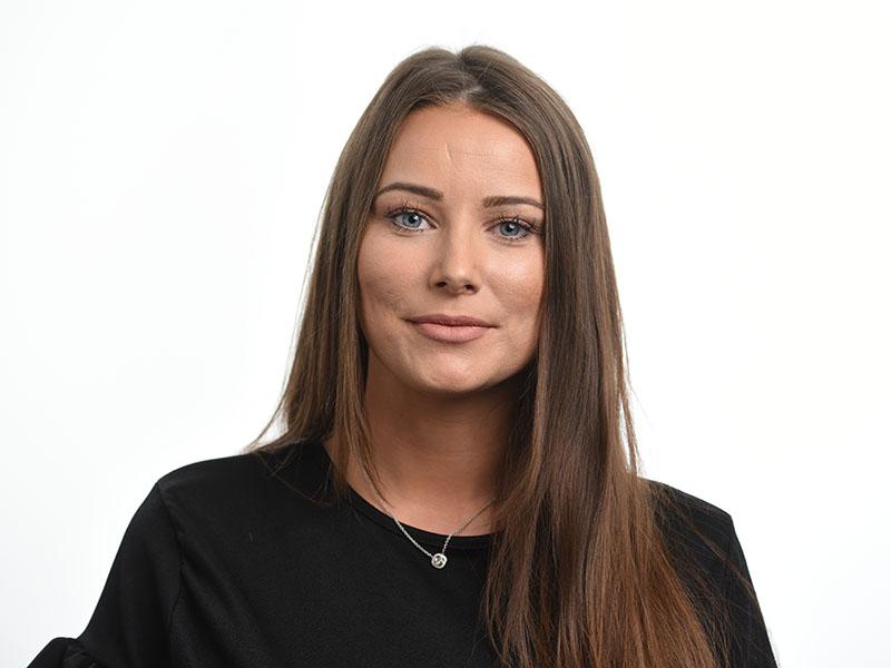 female headshot white background Birmingham