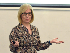 Sarah Bryars UOG Target Innovation Quolux launch