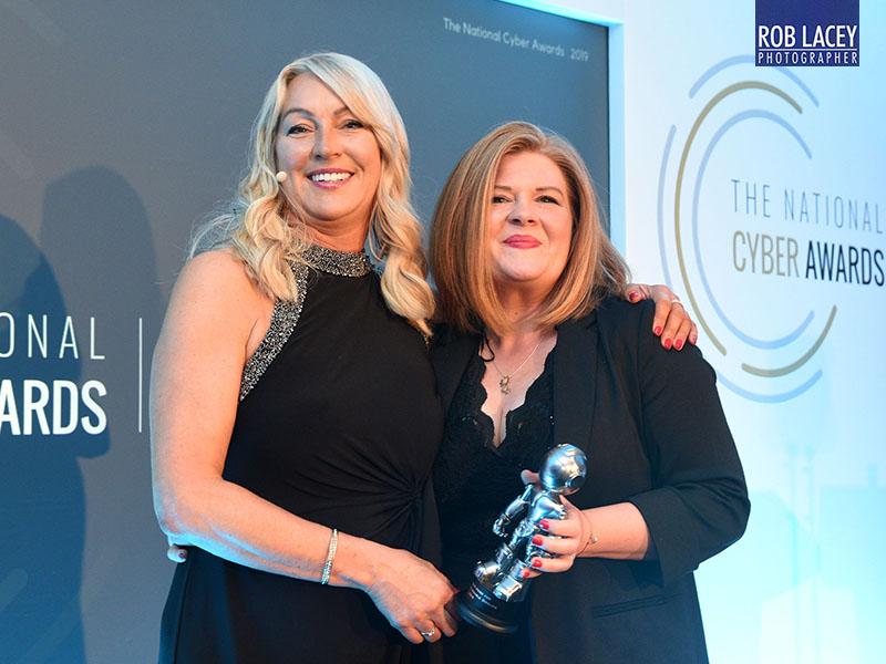 Awards presentation Angela Edwards