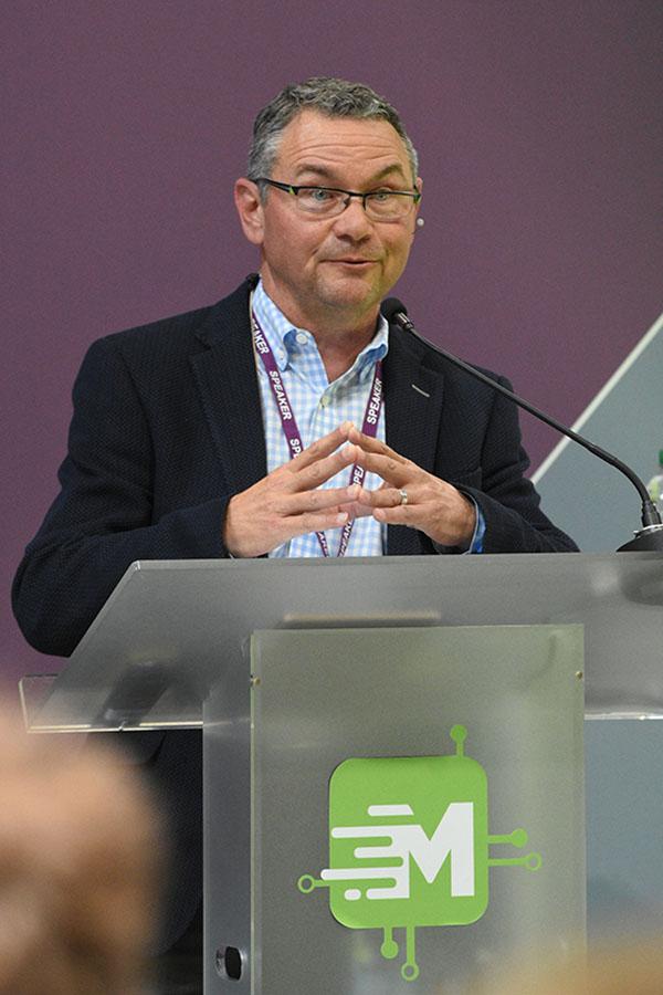 Conference speaker - Birmingham NEC
