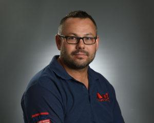 A&E Fire & Safety headshot male glasses