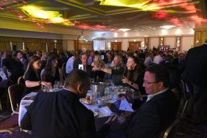 Tables at awards night