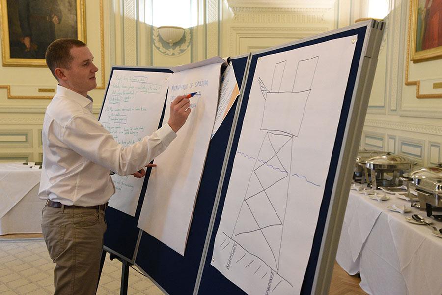 preparing conference presentation