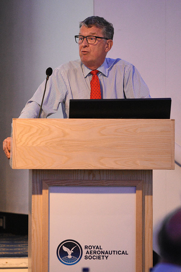 Speaker at Royal Aeronautical Society