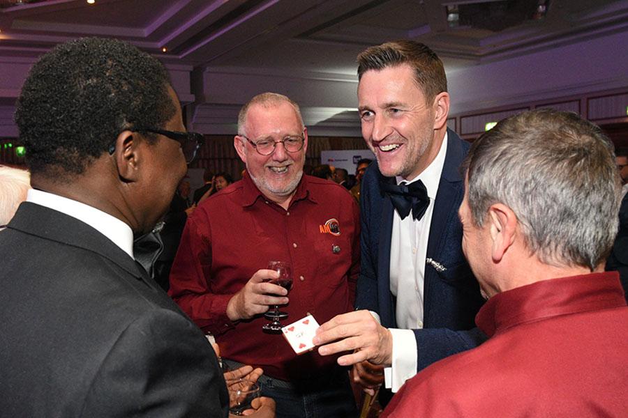 Magician at Business Awards